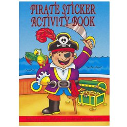 A6 Mini Piraten Sticker Activiteiten Boek