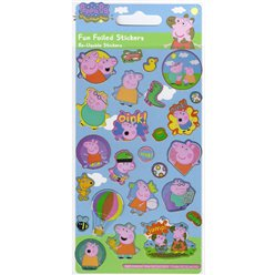 Peppa Pig Leuke Folie Stickers