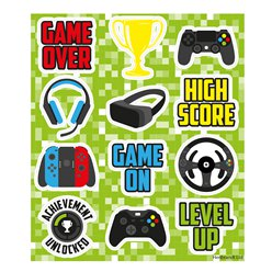 Gamer Stickervel