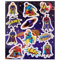 Superheld Stickers