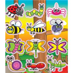 Tuin Insecten Stickers