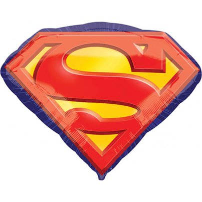 Superman Embleem SuperShape Ballon - 79 cm Folie