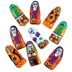 Halloween Solide Chocolade Figuren - 100 gr