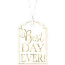 Witte Best Day Ever Labels