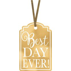 Gouden Best Day Ever Labels