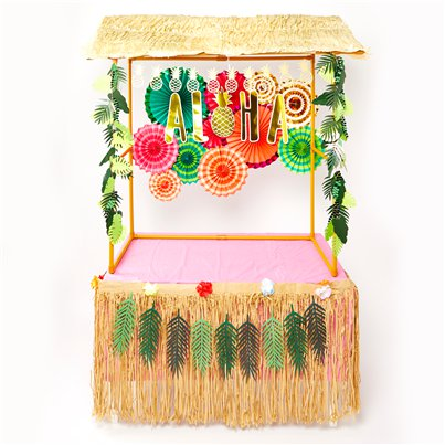 Super Deluxe Roze Aloha Tiki Bar Set