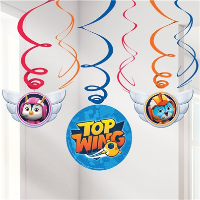 Top Wing Hangende Swirls