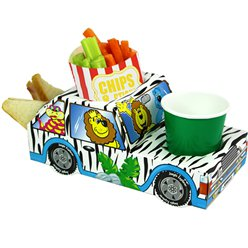 Jungle Safari Combi Hapjes Tray - 24 cm lang