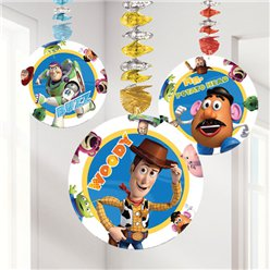 Toy Story 3 Hangende Cutout Decoraties