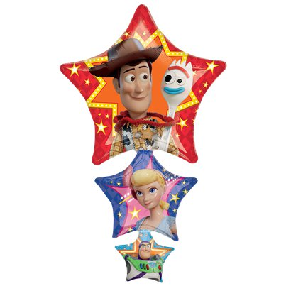 Toy Story 4 Supershape Ster Ballon