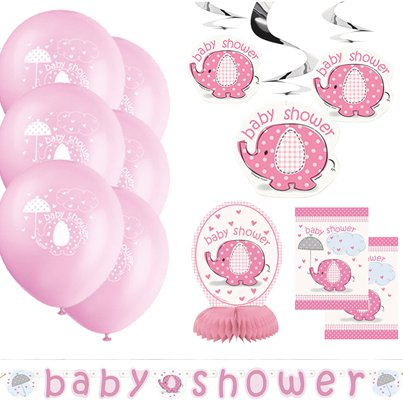 Paraplu Olifant Roze Decoratie Kit