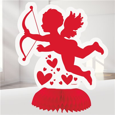 Mini Cupido Honingraat Decoraties - 15 cm