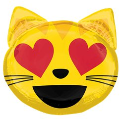 Kat Love Emoticon Supershape - 56 cm