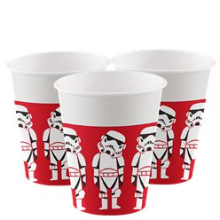 Star Wars Papieren Bekers - 200 ml