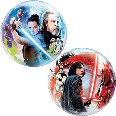 Star Wars: The Last Jedi Bubbel Ballon - 56 cm