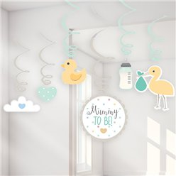 Baby Wensen Swirl Decoraties