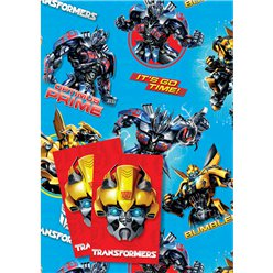 Transformers Inpakpapier & Labels