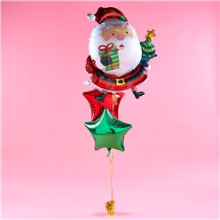 Kerstman Ballon Set