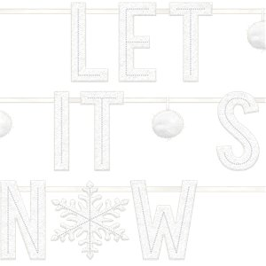 Let It Snow Vilten Banner