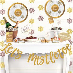 Lets Mistletoe Deluxe Buffet Decoratie Set