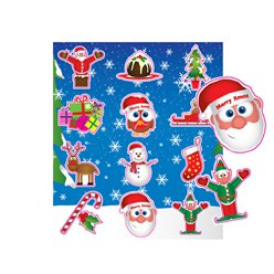 Kerstmis Stickers