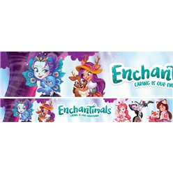Enchantimals Papieren Banners - 1m