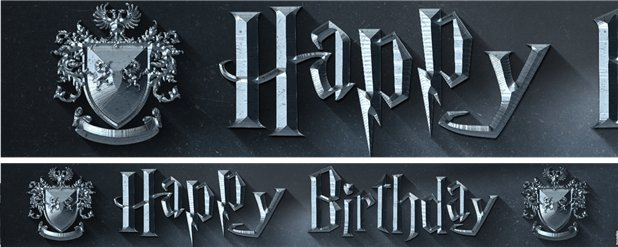 Harry Potter Tuinbanners - 1m