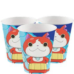 Yokai Watch Bekers - 266 ml Papieren Feestbekers