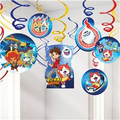 Yokai Watch Hangende Swirl Decoraties