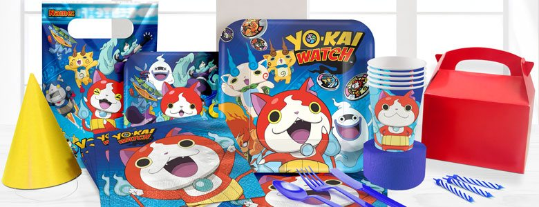 Yo-Kai Watch Feestartikelen