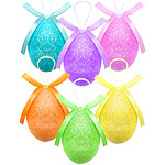 Glitter Eggs - 7cm Easter Decoration