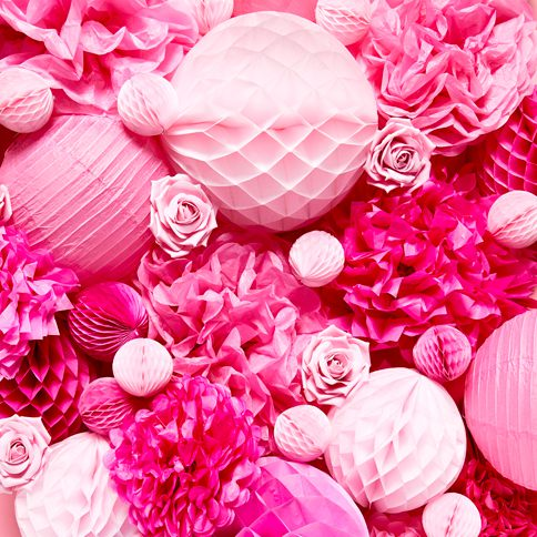 Roze Decoraties